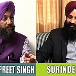 Talking Punjab | Exclusive Interview | Dr. Sukhpreet Singh Udoke | Surinder Singh - YouTube