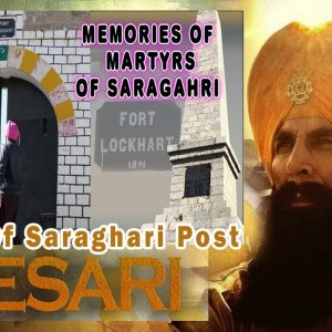 Original Place Battle of Sragarhi Martyrs 36 Sikh Regiment! Lokhart Fort!