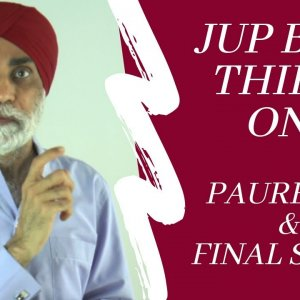 Lecture 31 | Understanding Jup Banee | Dr. Karminder Singh Dhillon | In English