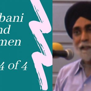 [Lecture] Gurbani and Women Part Four